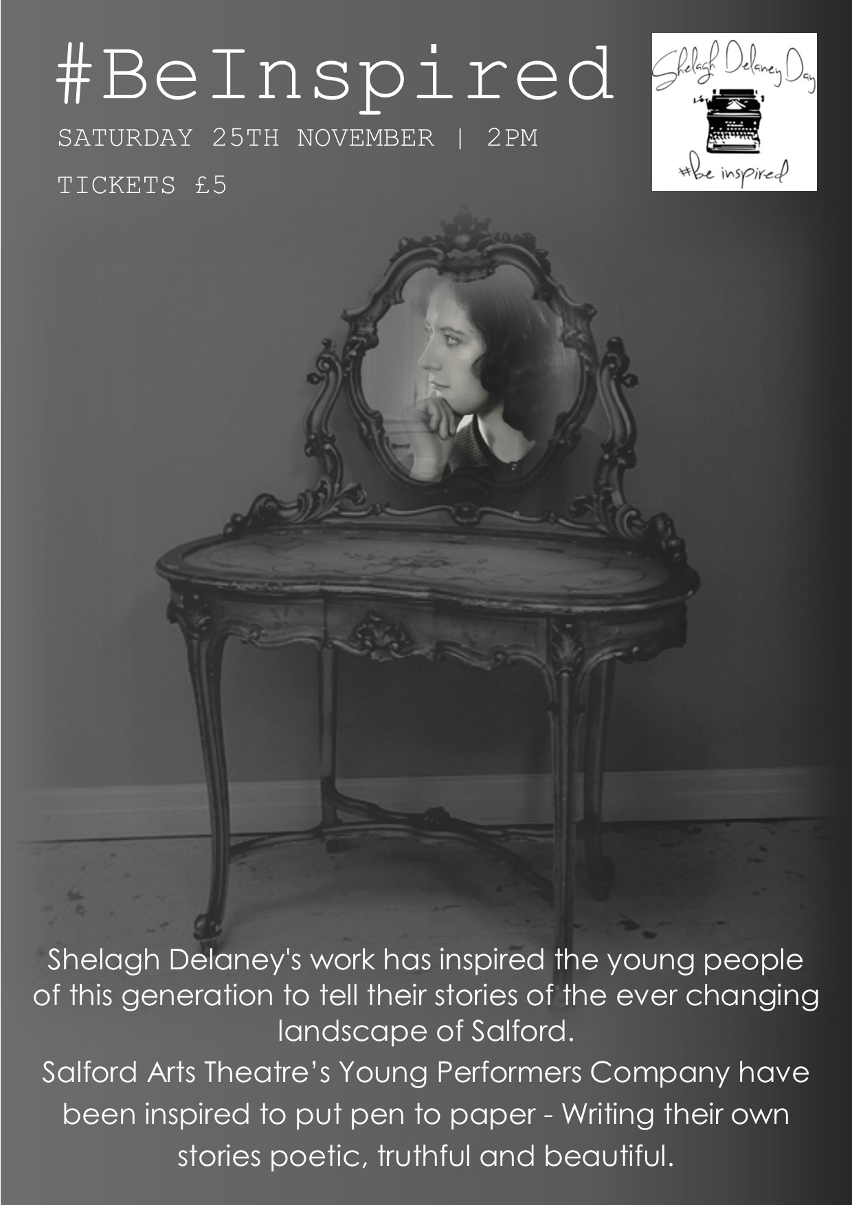 #BEINSPIRED | SHELAGH DELANEY DAY