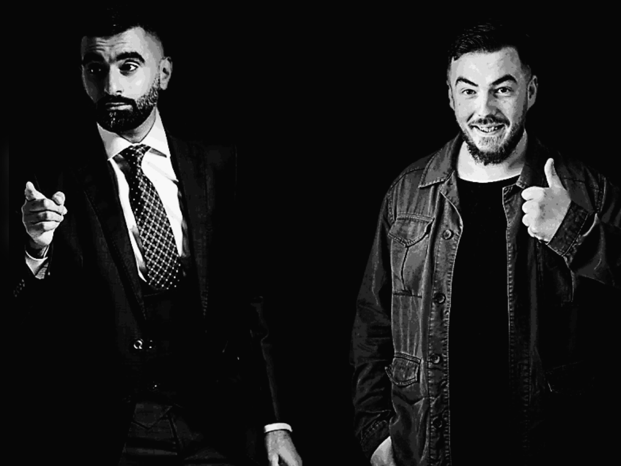 TEZ ILYAS & LEWIS COSTELLO  - WORK IN PROGRESS  - PERFORMING AT SALFORD ARTS THEATRE