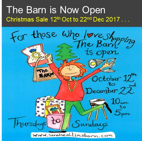 Christmas at The Barn 2017 now open!