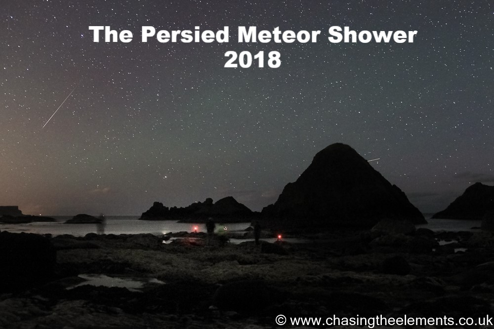 Persied Meteor shower 2018