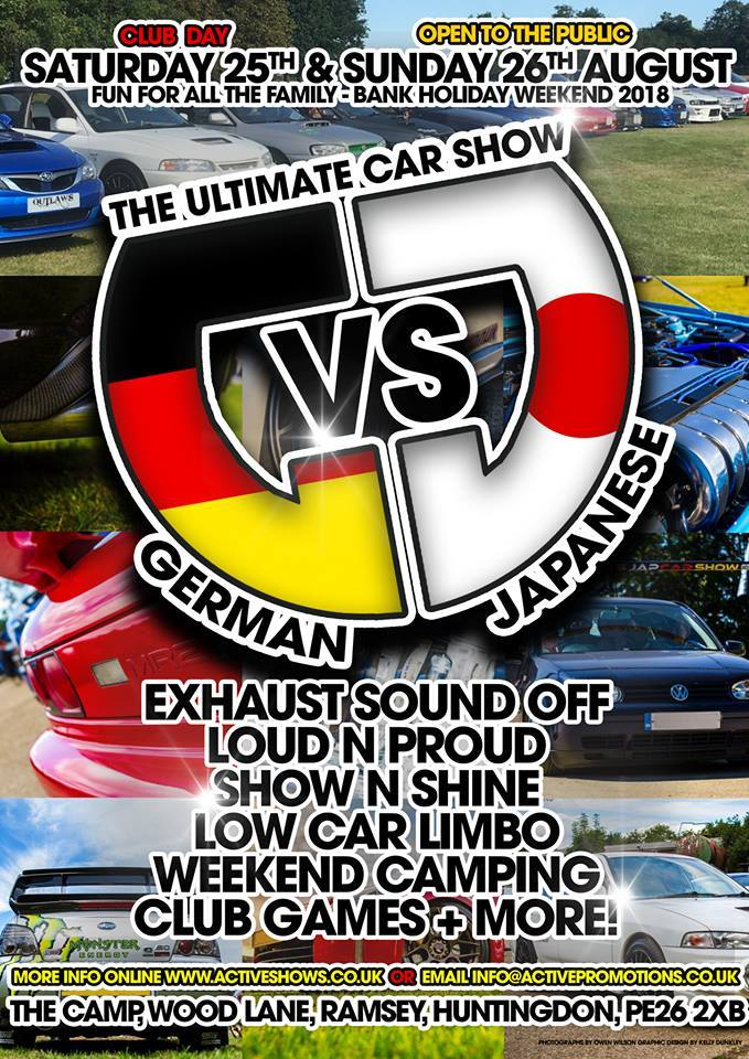 German vs Japanese Car Show