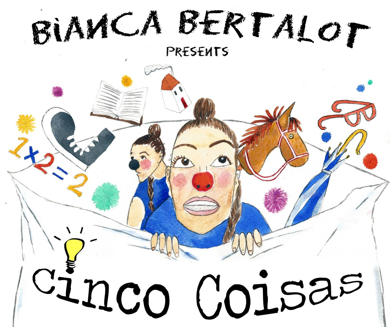 BIANCA BERTALOT PRESENTS CINCO COISAS  | PPERFORMED AT SALFORD ARTS THEATRE | PART OF THE GM FRINGE