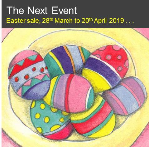 Easter at The Barn 2019 now open . . .