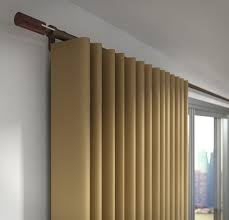silent gliss wave curtains on metroflat track