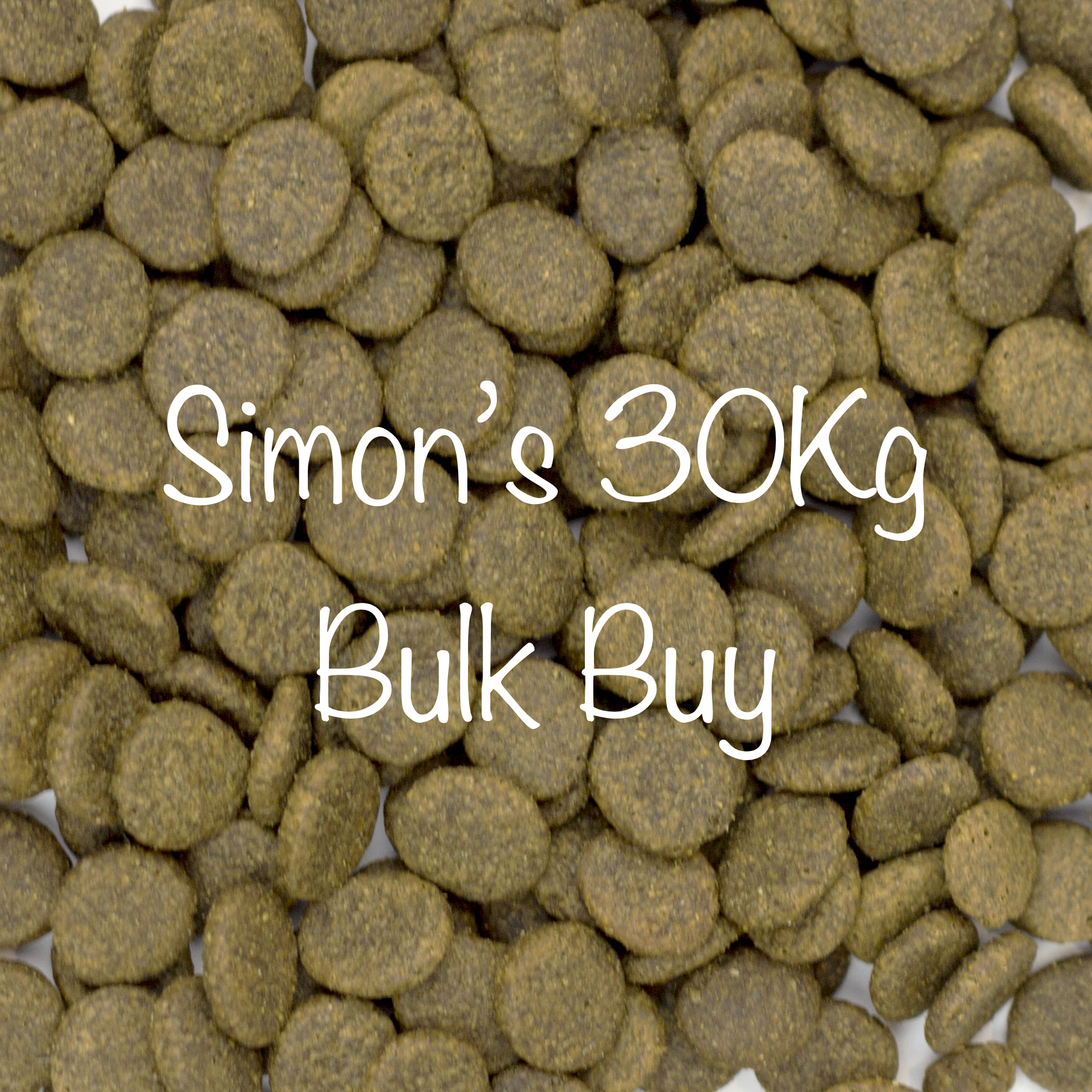 2 x 15Kg Bags of Simon's Dinner