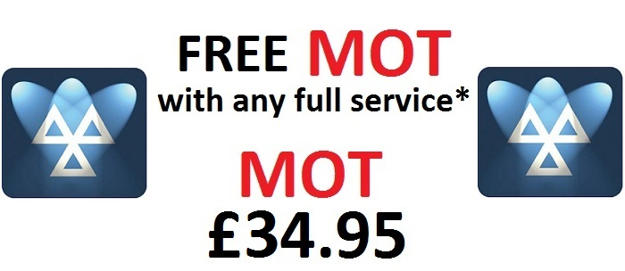 Brake Station - MOT only £34.95 - MOT £17.50 with any Full Service