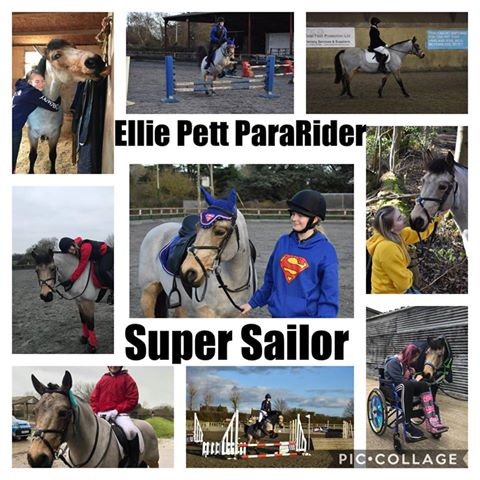 Ellie Pett & Super Sailor