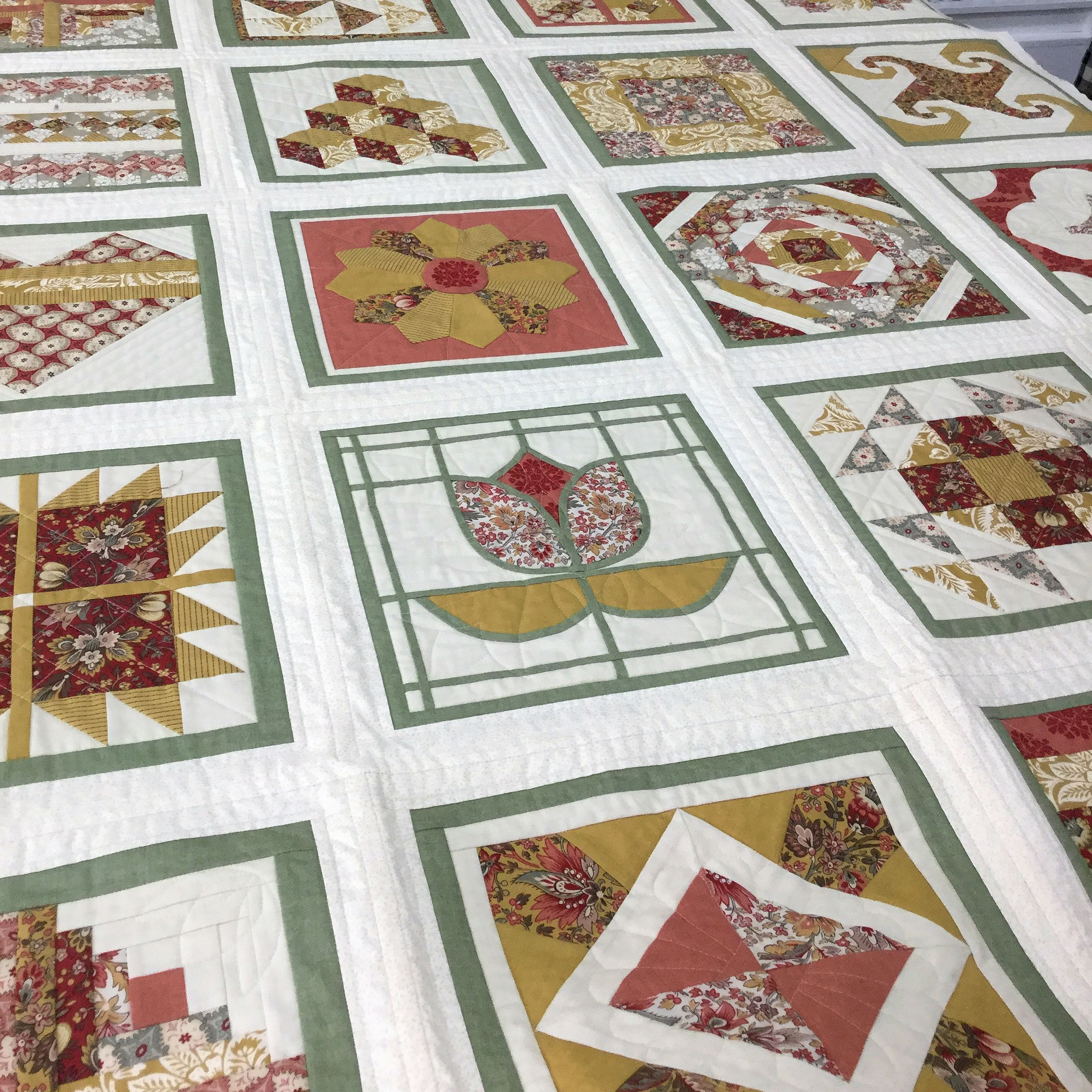 Sampler Quilt Course - Part 1