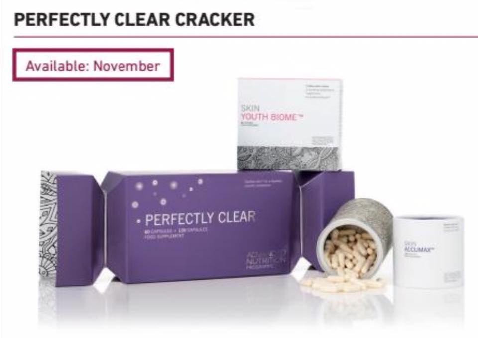 Perfectly Clear Festive Cracker