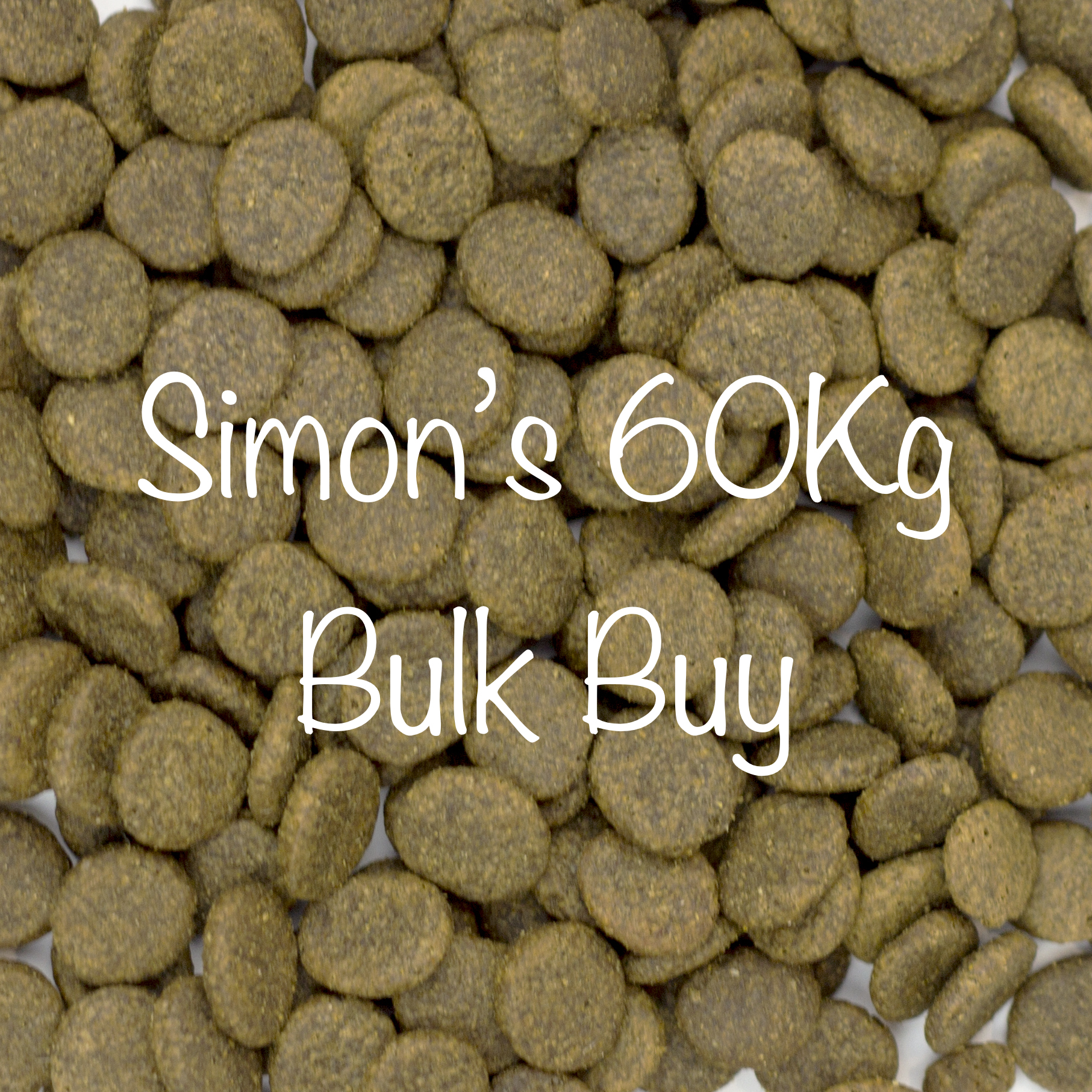 4 x 15Kg Bags of Simon's Dinner