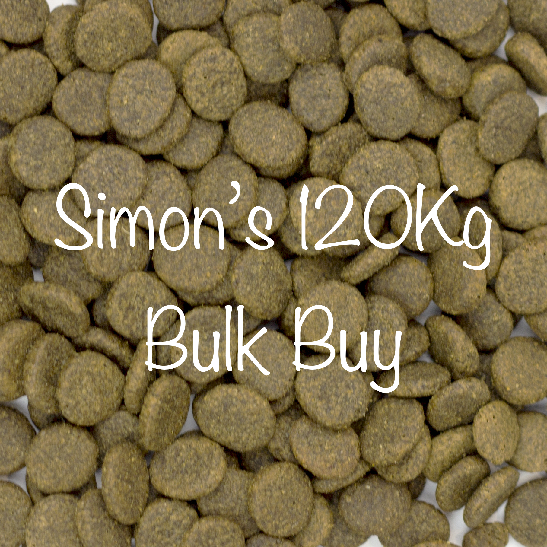 6 x 15Kg Bags of Simon's Dinner