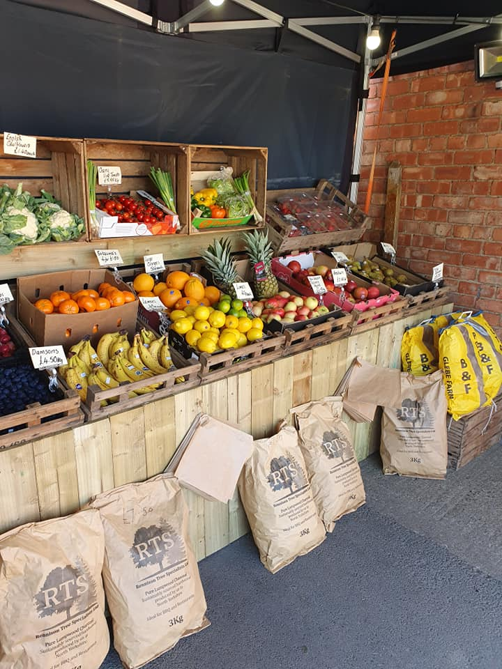 Fresh fruit and vegetables at Spring House Farm Shop