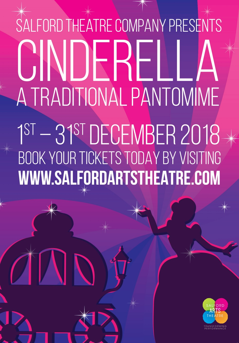 CINDERELLA  - A Traditional Panto - Salford Arts Theatre