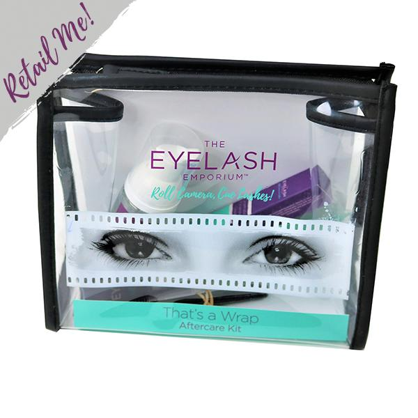Eyelash Emporium It's A Wrap Aftercare Kit