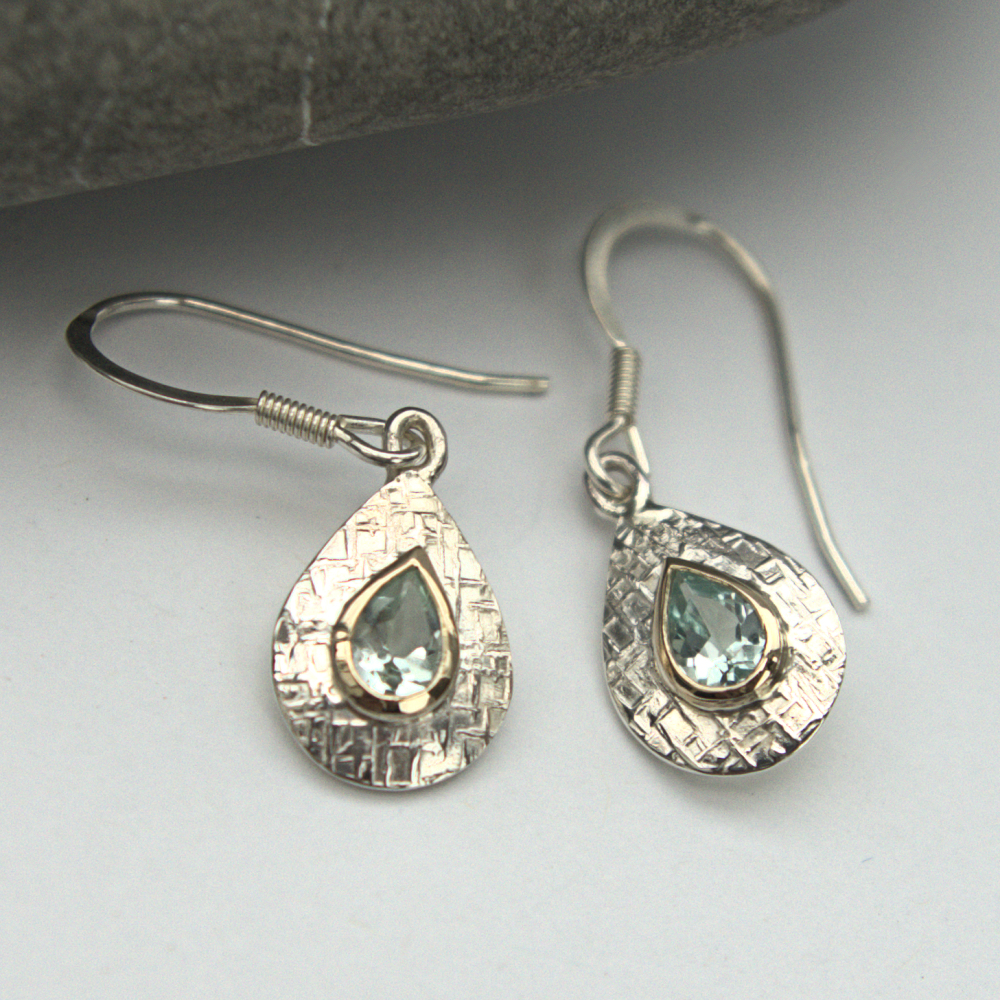 Green Beryl earrings