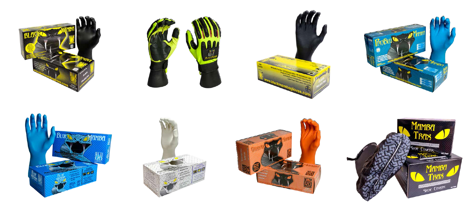 Black Mamba Gloves and Accessories