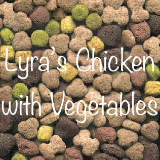Lyra's Chicken & Vegetables 15Kg