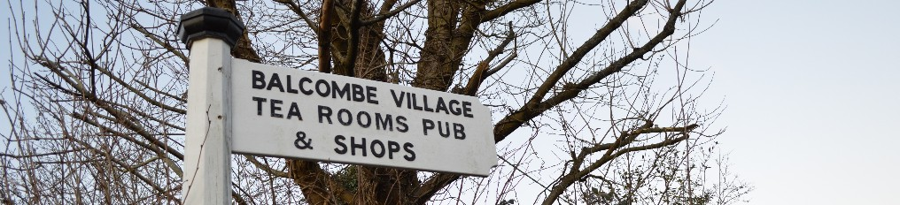 Balccombe Village Tea Rooms Pub and Shops Sign