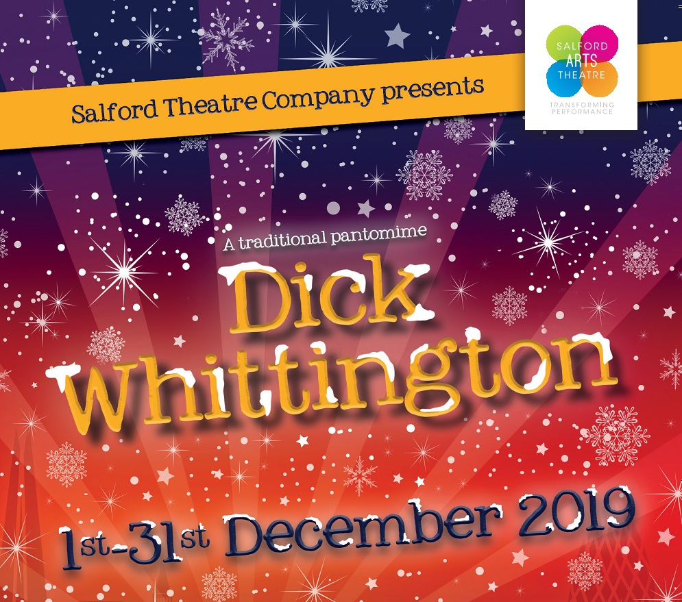 DICK WHITTINGTON  - SALFORD THEATRE COMPANY TRADITIONAL PANTO