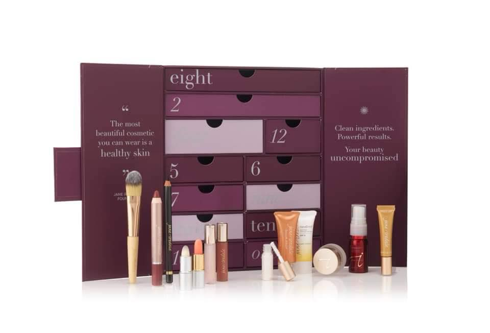 SOLD OUT Jane Iredale Mineral Makeup 12 Days of Christmas Advent Calendar