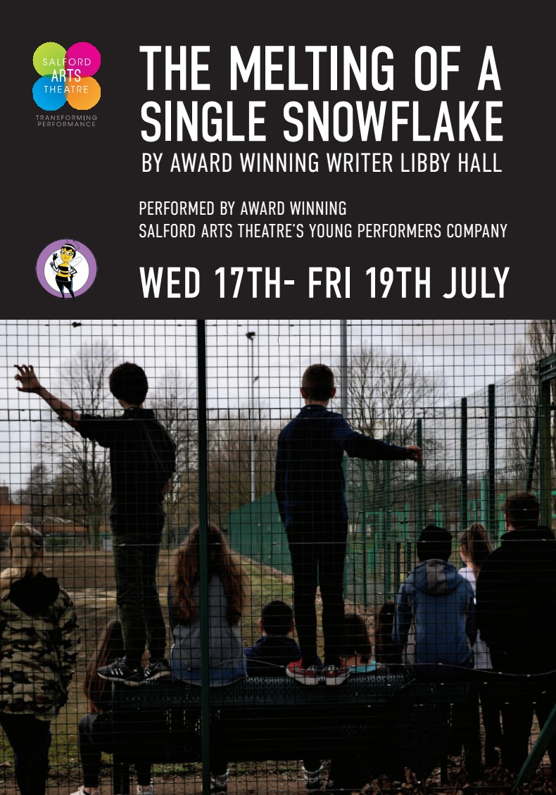 THE MELTING OF A SINGLE SNOWFLAKE BY LIBBY HALL PART OF GM FRINGE 2019
