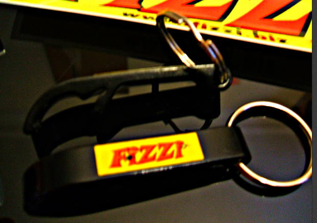 Fizzi combined Bottle Opener and Keyring