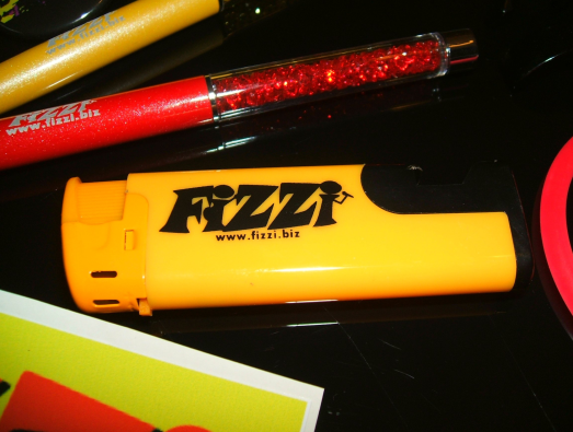 Fizzi  exclusive limited edition custom yellow combined lighter & bottle opener