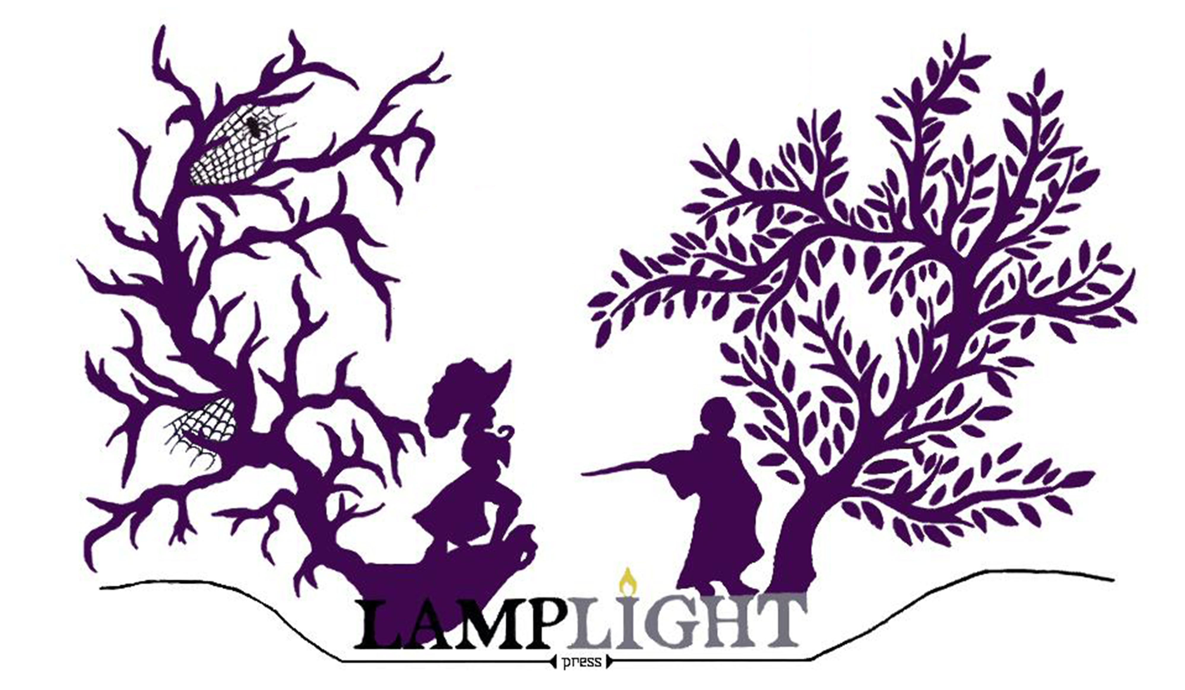 Lamplight Press silhouette created by Jade Ledingham