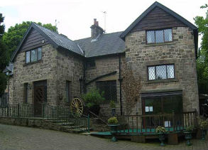 Front of house, The Green Peak District party house in Hope Debyshire