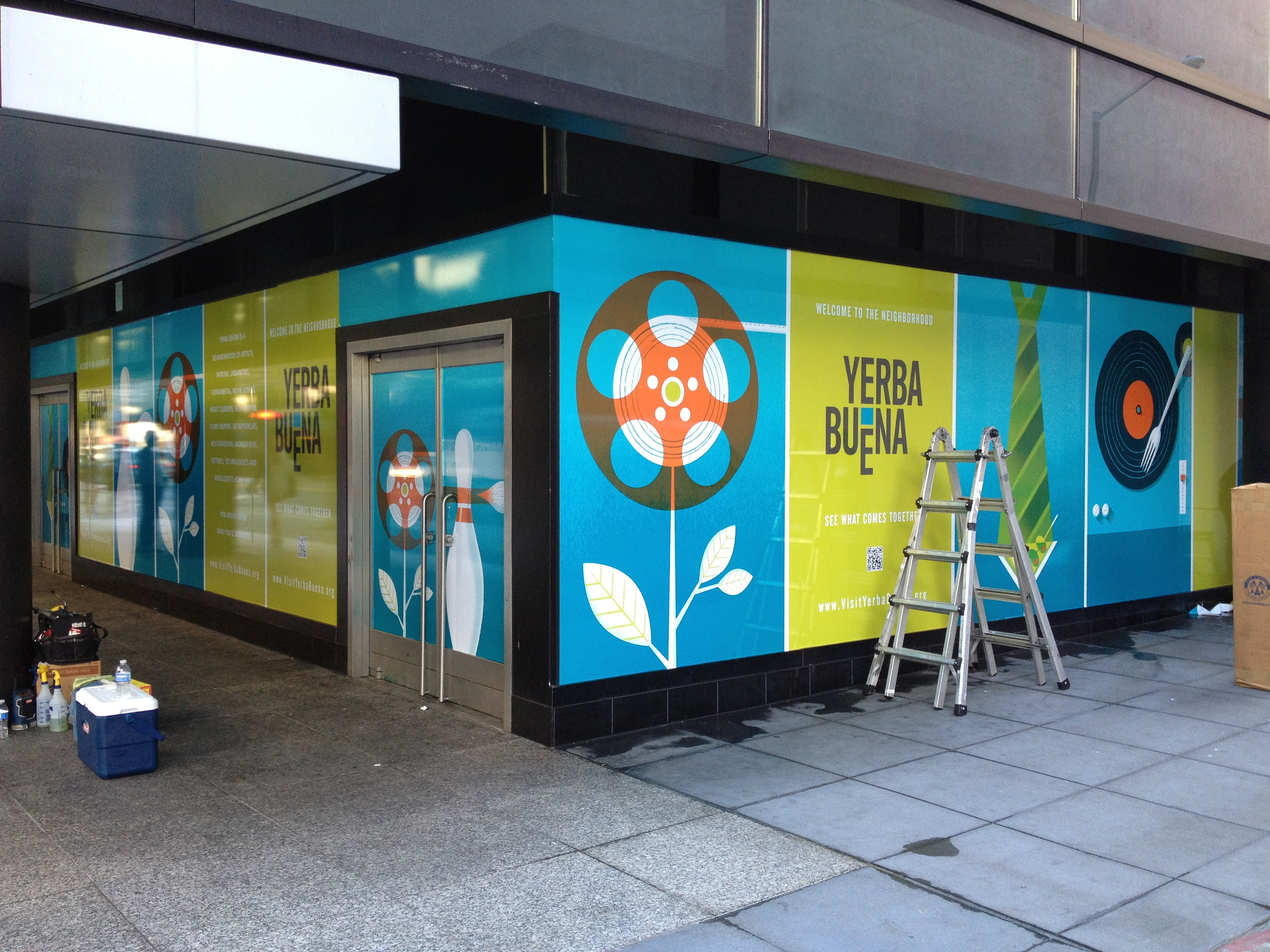 Window graphics for Window vinyl design