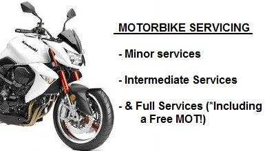 Motorcycle service Brighton