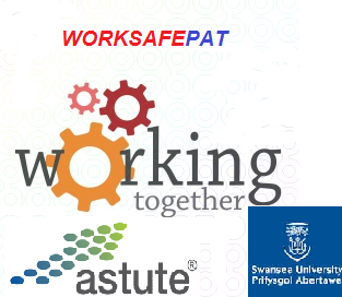 worksafepat has worked on research and development projects with Astute in Swansea University