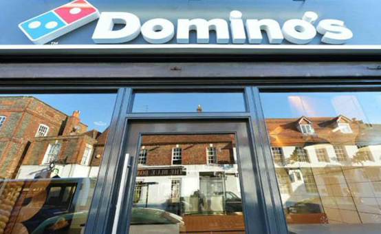 worksafepat have carried out electrical inspection and testing at Dominos branches