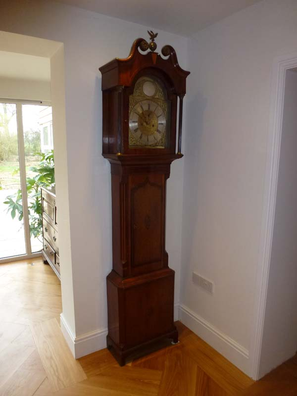 Grandfather clock in our hallway