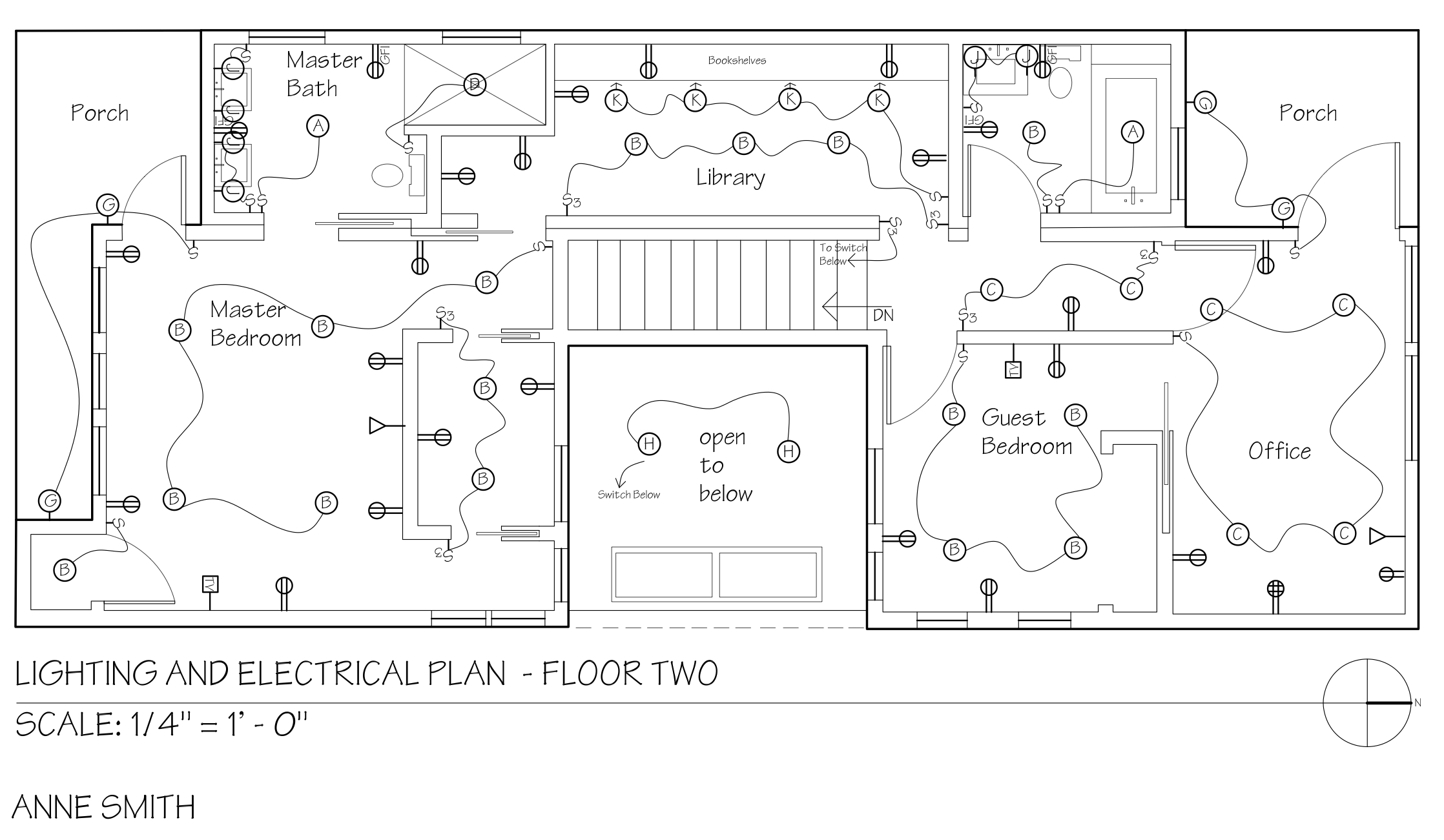 Lighting Floor Plan Symbols - Democraciaejustica