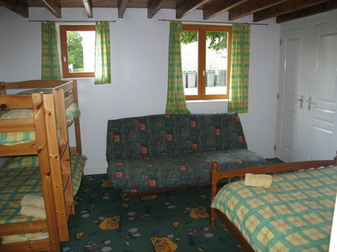 Logis family bedroom