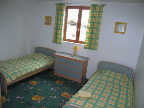 Logis twin bedded bedroom