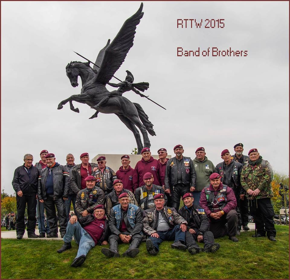 Click image for the BRITISH AIRBORNE FORCES CLUB