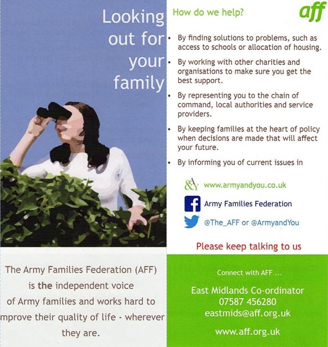 THE ARMY FAMILIES FOUNDATION
