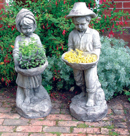 STONE GARDEN SWAIN GIRL AND BOY