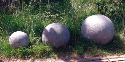 STONE GARDEN SMALL, LARGE & GRAND SPHERES FINIALS