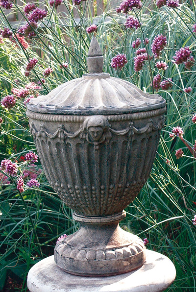 STONE GARDEN OLYMPIC URN WITH LID