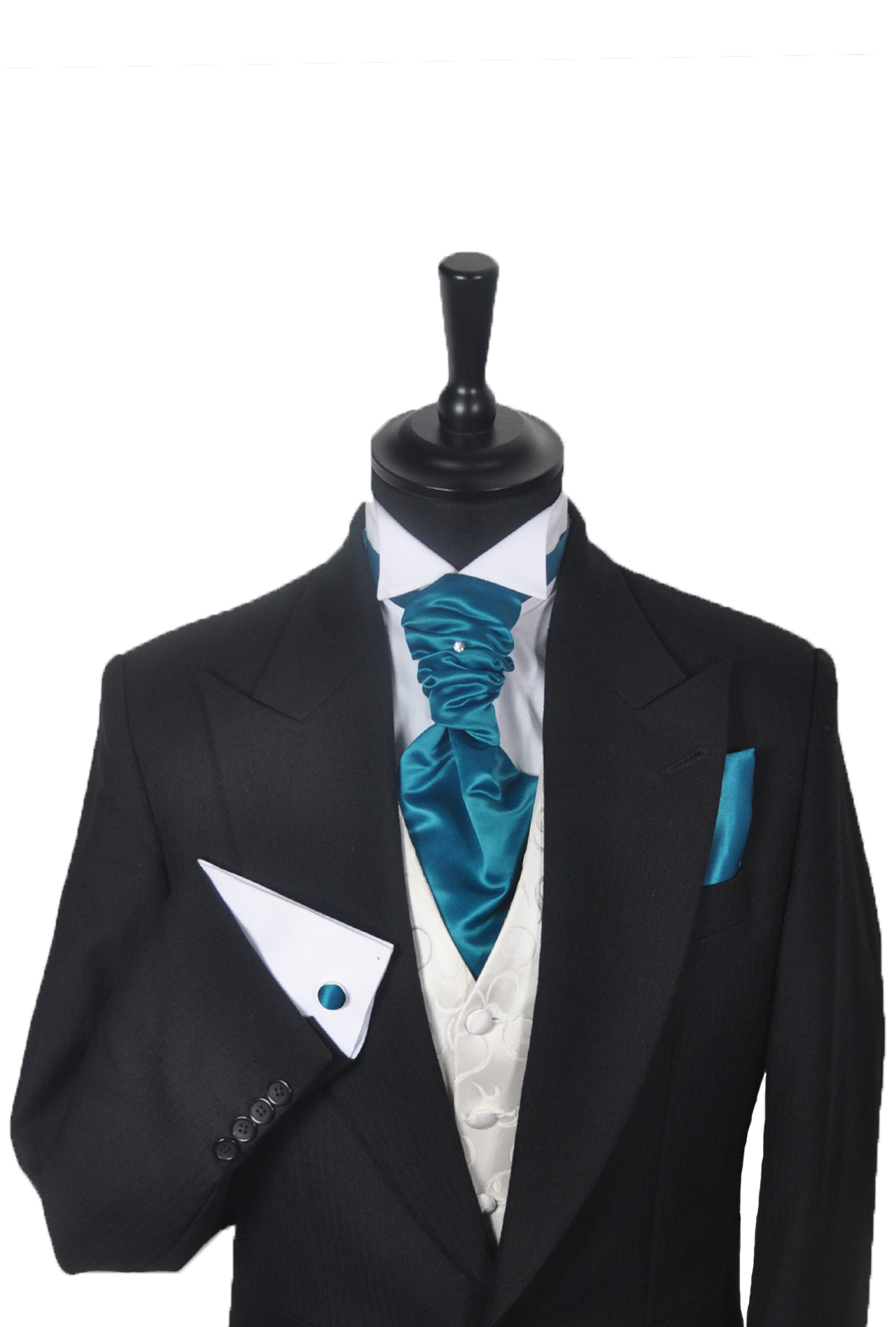 Teal Green Cravat