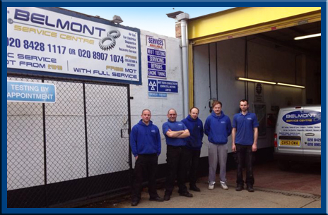 Belmont Service Centre Team