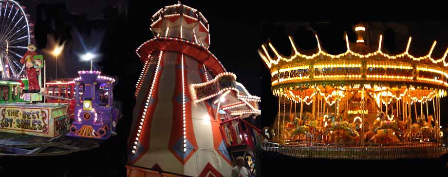 Helter Skelter and carosel hire