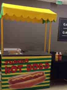 Food cart Hire
