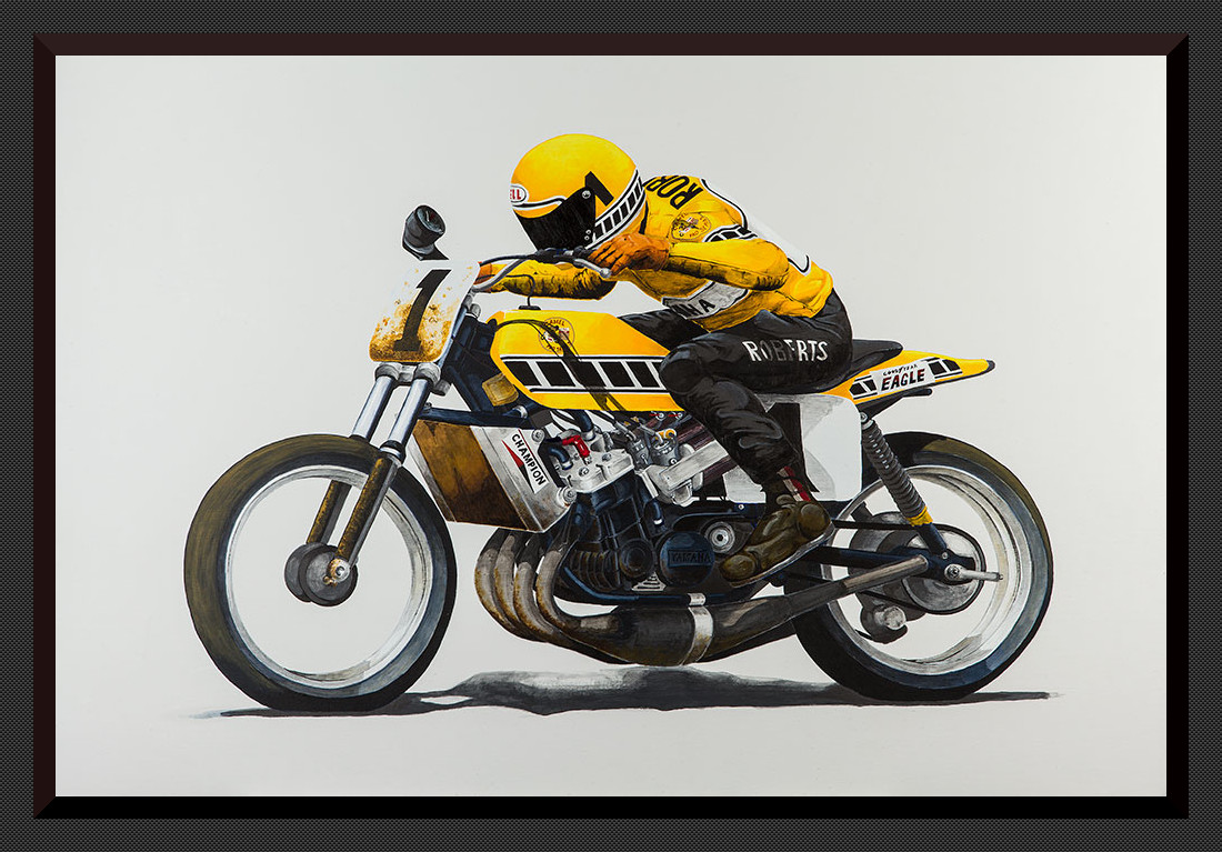 Kenny Roberts TZ750 Flatracker