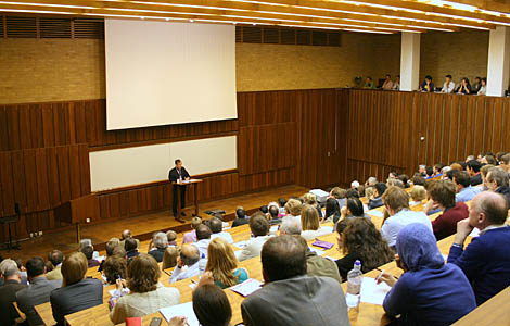 University lecture - engineering students