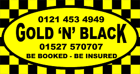 Gold 'N' Black Rubery LTD Logo