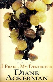 I Praise my Destroyer hardcover